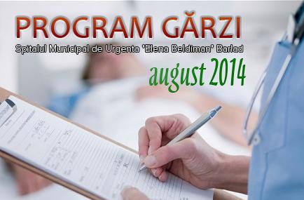 GRAFIC GARZI AUGUST 2014